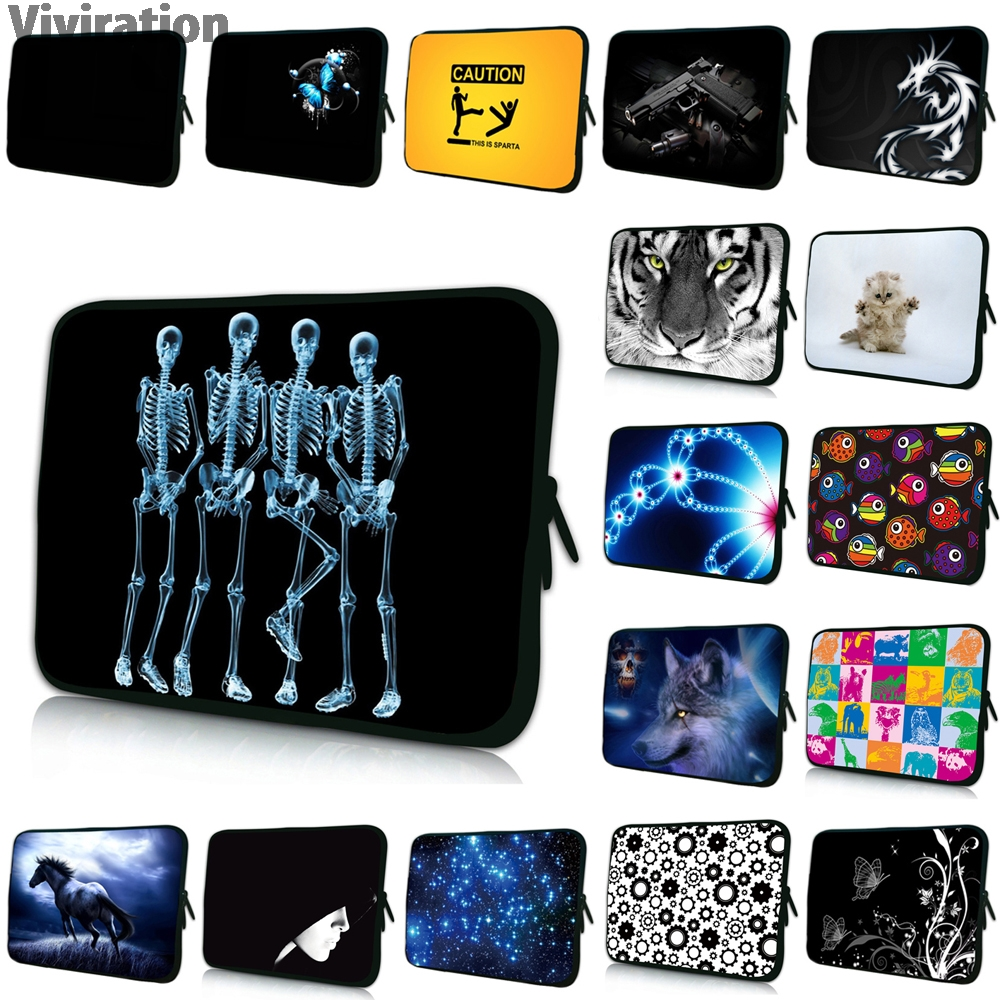 Vivirtion Colorful Women Mens New Neoprene 7 10 12 13 14 15 17 15.4 13.3 11.6 17.3 Notebook Cover Pouch Bag Protector Hot 2017