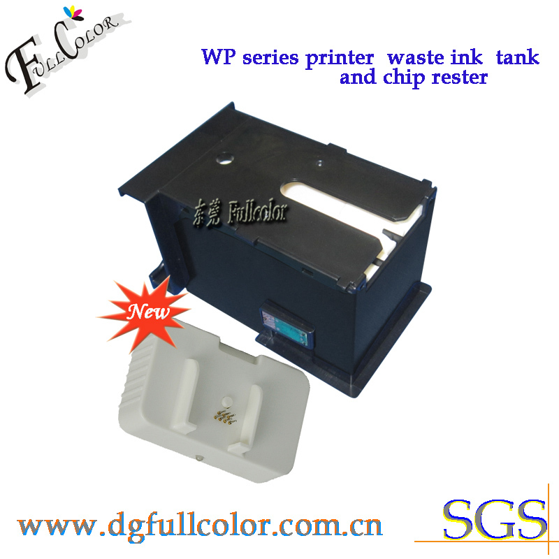 FREE SHIPPING T6710 Waste Ink Tank / Maintenance Tank with Resettable chip for Epson Pro WP 4010/4023/4090/4590/4020/4530/4540