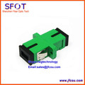 Wholesale - Fiber Optic Adapter Adaptor SC-SC SC Simplex Singlemode APC green Plastic Housing  50pcs/lot  Free Shipping