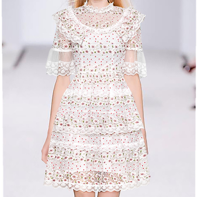 Runway Mesh Embroidery...