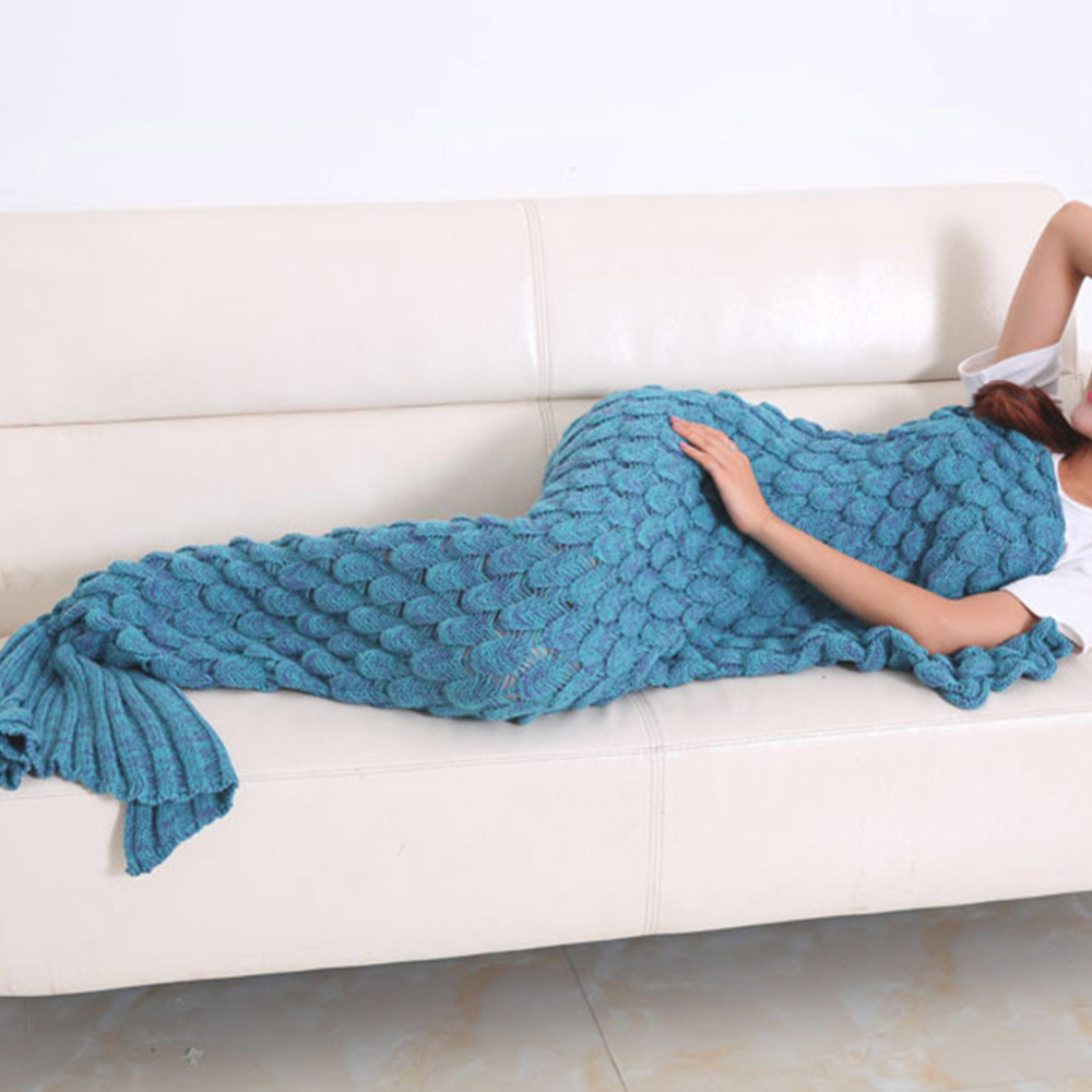 Knitted Mermaid Tail Blanket Pattern Free New Decorating Design