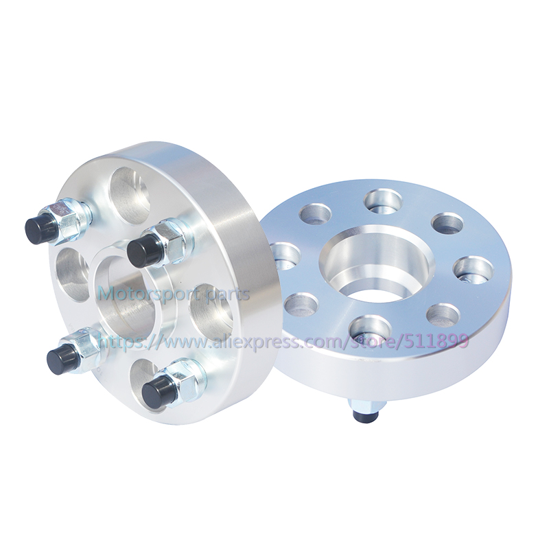 TUPARTS 2pcs 1.25 4x100 12x1.5 54.1 Wheel Spacers fit for Toyota Corolla Mazda 323 Toyota Echo