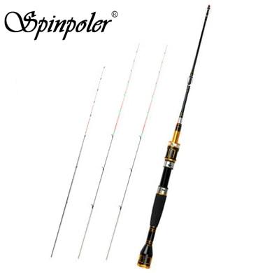 Spinpoler 3 Titanium Tips High Sensitive Raft Fishing Rod Set Ultra Light Raft Rod Ultralight River