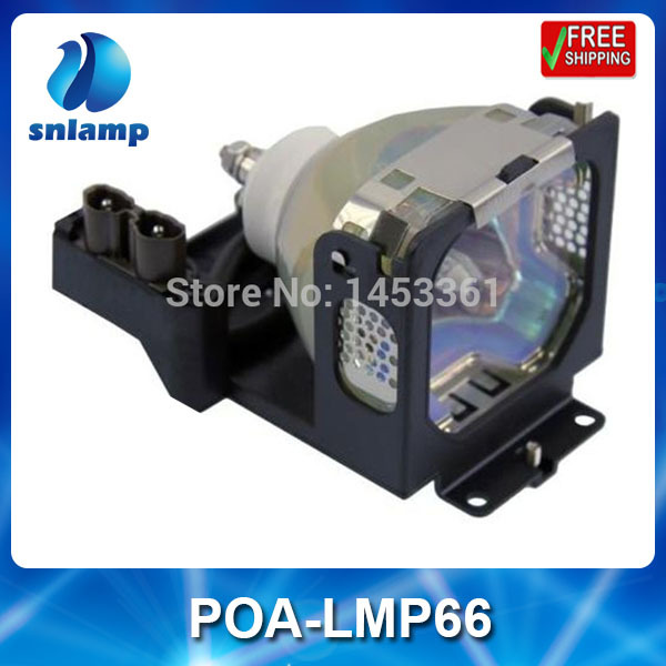 Replacement projector lamp bulb POA-LMP66/610-311-0486 for PLC-SE20 PLC-SE20A яуза пресс 978 5 9955 0486 3