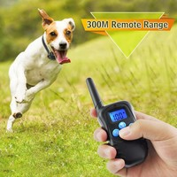 Remote Dog Training Rechargeable Collar And Electronic Vibration Vibration Dog Collar Honden Halsband Dog Training Clicker