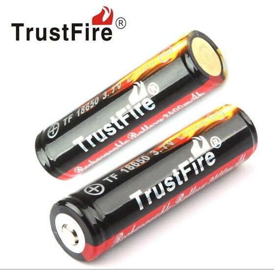 Gros TrustFire AA 14500 3.7 V 900 mAh Li-ion Batterie Coloré Rechargeable Batteries avec PCB Conseil de La Protection Pour lampe de Poche