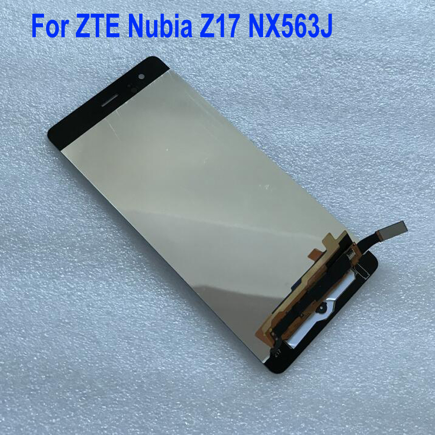 Best Working Sensor LCD Display Touch Screen Digitizer Assembly For ZTE Nubia Z17 NX563J Glass Panel