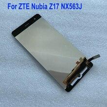 Лучший датчик работы ЖК дисплей кодирующий преобразователь сенсорного экрана в сборе для ZTE Nubia Z17 NX563J стеклянная панель оригинальные или oem телефонные части