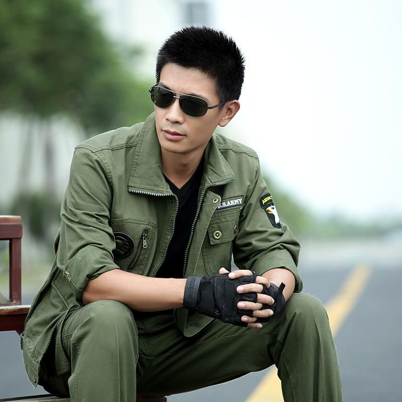 Uniforme militaire armée vert aigle uniforme militaire tactique vestes de Combat + Cargo pantalon costume CS Fardas vêtements militaires homme