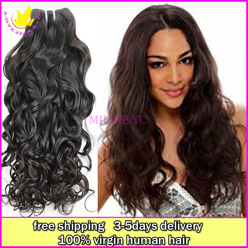 Cheap Good Quality Brazilian Water Wave Virgin Human Weave Hair 6a