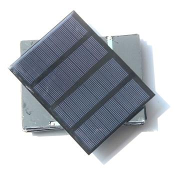 BUHESHUI  Mini 1.5W 12V  Solar Cell Polycrystalline Solar Panel DIY Solar Power Battery Charger Study 115*85MM Epoxy 500pcs/ot