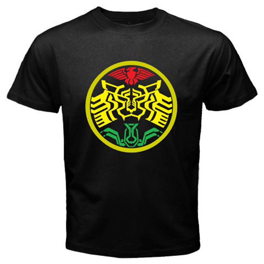 New Kamen Rider OOO Super Tatoba Symbol Mens Black T-Shirt Size S to 3XL