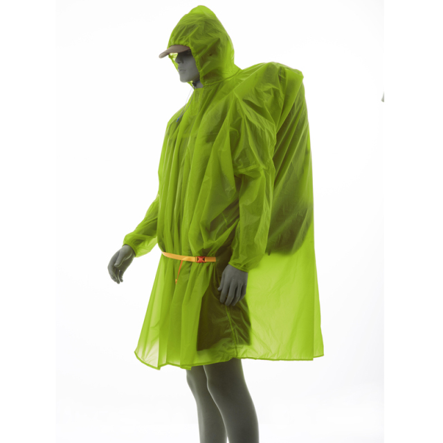 3F UL Poncho Ultralight  Raincoat   15D Silicone 210T 5