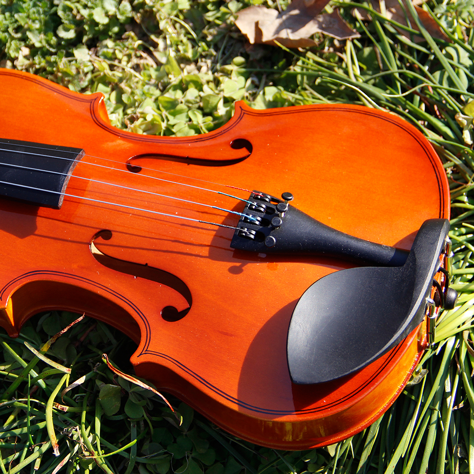 China Bailing 1/4 Violin (3/4 & 4/4 & 1/2 & 1/8) Acoustic Violin with Case / Violin High Quality handmade new solid maple wood brown acoustic violin violino 4 4 electric violin case bow included