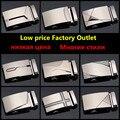 Direto da fábrica de Ultra-baixo custo de alta qualidade liga fivela automática fivela de cinto de couro dos homens fivela de cinto de fivela modelos de explosão