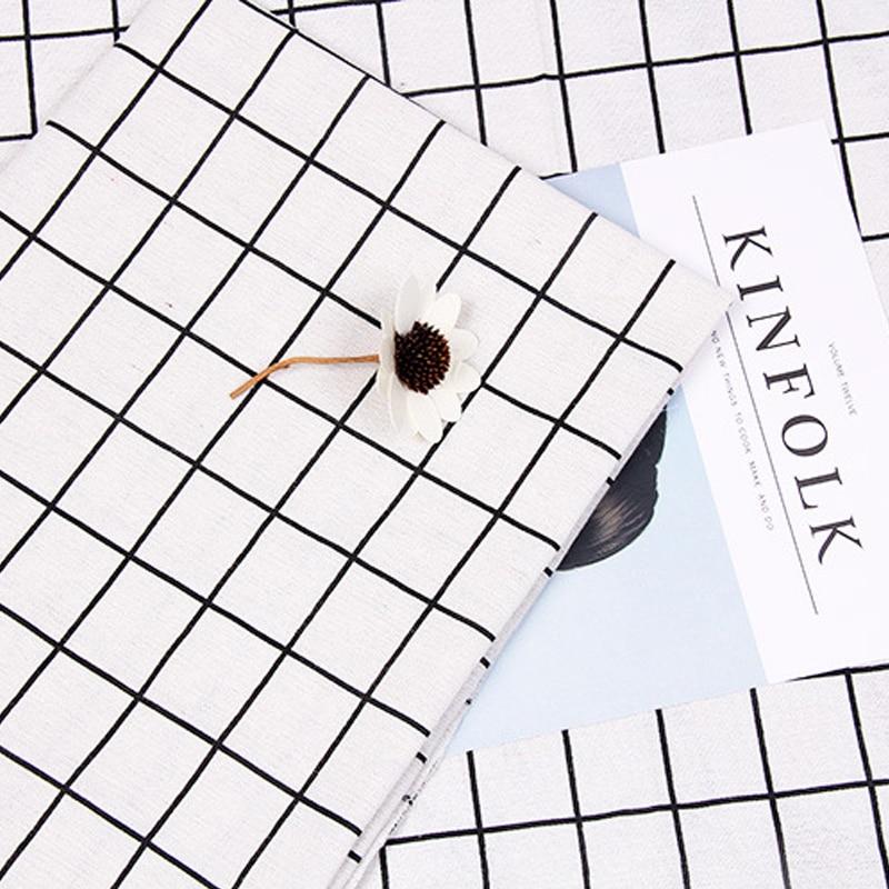 Roadfisher Zwart Beige Grey Plaid Ins Fotografie Achtergrond Achtergrond Diy Zagen Stof Bureau Tafelkleed Schieten Tool Props Om Een Hoge Bewondering Te Winnen