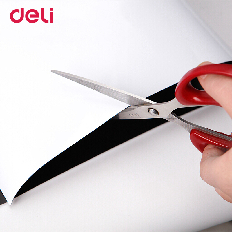 Deli Magnetic Whiteboard Soft Iron Wall Sticker Office Message Erasable Whiteboard Paper Painting Whiteboard Sticker Free Cut 3