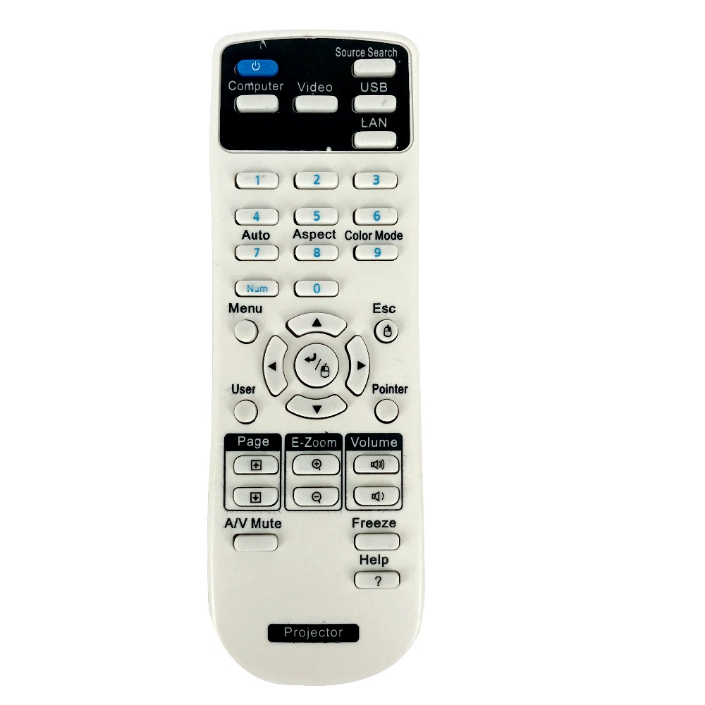 NEW Remote Control FOR Epson 154720001 Projector fit for EB C30XE EB 30XE EB C28SH EB S18 EB S4 EB X24 EB S31 EB W in Remote Controls from Consumer Electronics