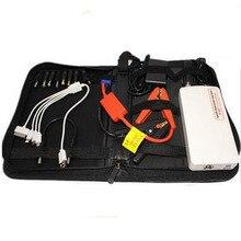 Hot Multi-Function 12V Car Jump Starter Emergency Starter Battery Charger Laptop Mobile Phone Power Bank 30000MAH White LR15