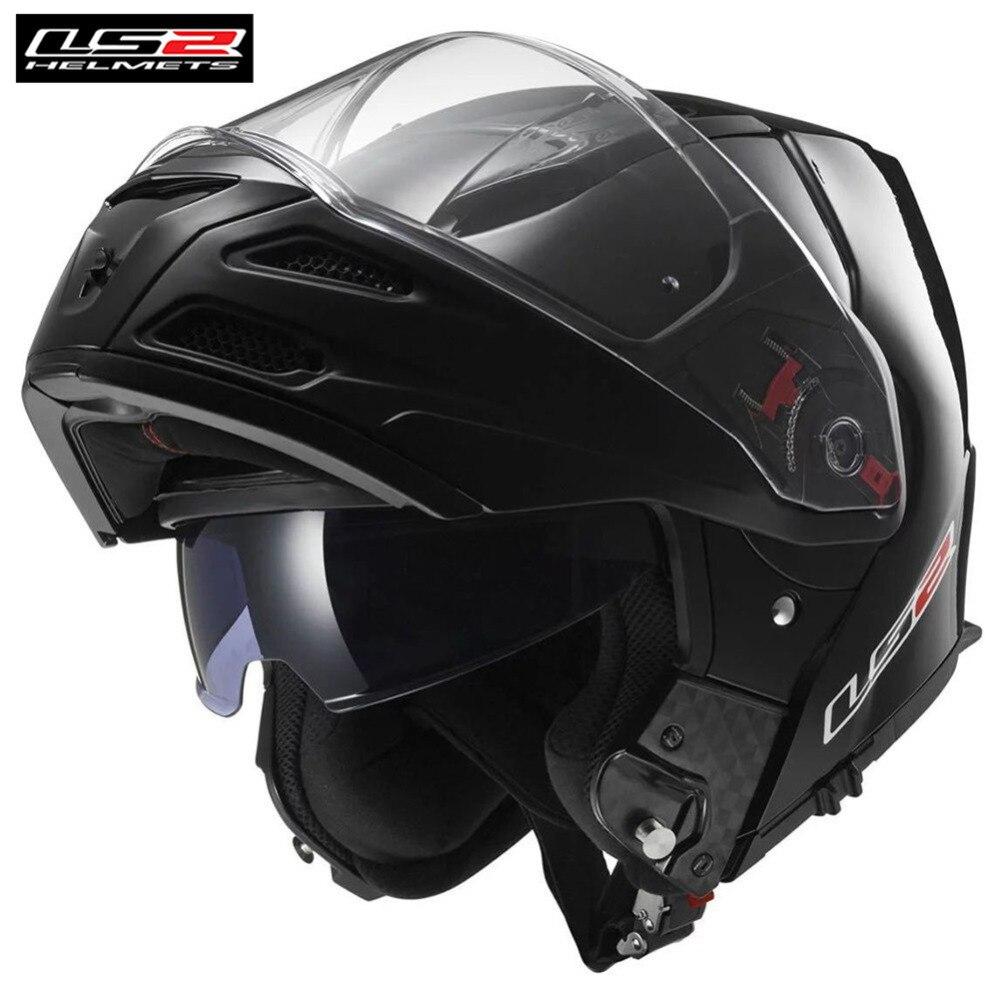 LS2 Touring Motorcycle Helmet Modular Flip Up Casco Capacete Casque Open Moto Helmets Kask Helm For