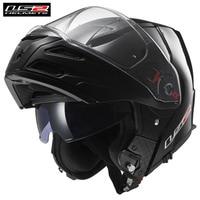 LS2 гастроли мотоцикл шлем модульный флип Каско Capacete шлем открытым мото шлемы каск руля для BMW Кафе Racer Cruiser метро