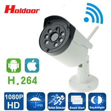 WIFI IP Camera 1080p 2mp Wireless Security IP Cam With Sd Card Slot Seguridad Exterior Outdoor HD Onvif Home CCTV Camaras