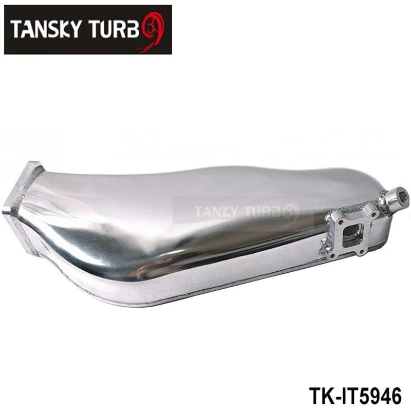 TANSKY - For NISSAN RB20 Cast Aluminum Turbo Intake Manifold Polished JDM high Performance TK-IT5946 pqy racing cast aluminium intake manifold for 93 98 supra 2jzgte for toyota 2jz intake manifold high quality new brand
