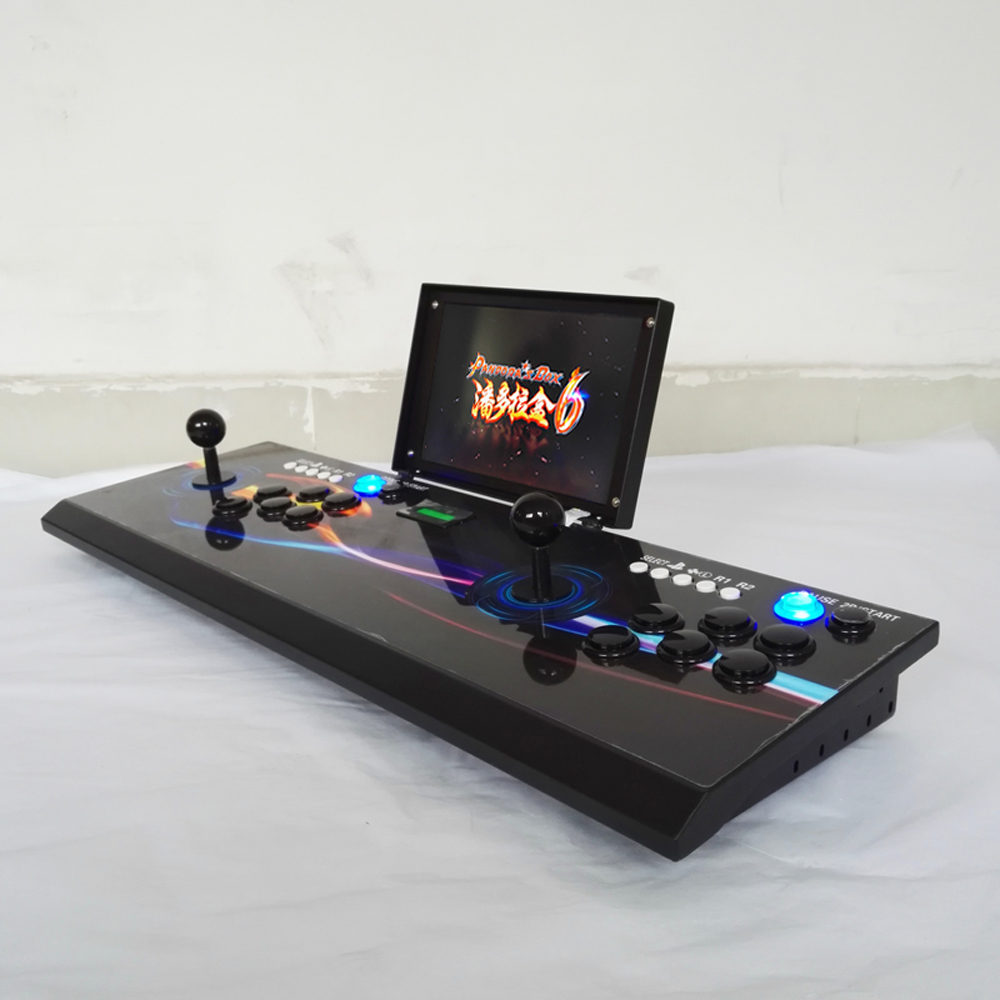 new product 10 inch LCD using Pandora Box console with 1300 in 1 game board