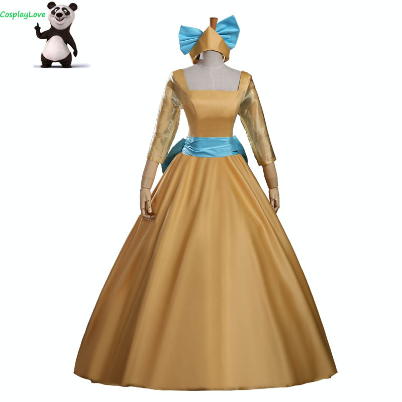 CosplayLove Anastasia Cosplay Kid Adult Princess Anya Dress Cosplay Costume Custom Made For Women Christmas Halloween