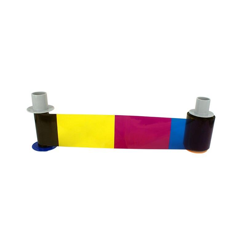 SEEBZ 3 pièces 500 imprime YMCK 84051 Ruban de couleur et 1 pièces Film Pour Fargo HDP5000 Carte Imprimante