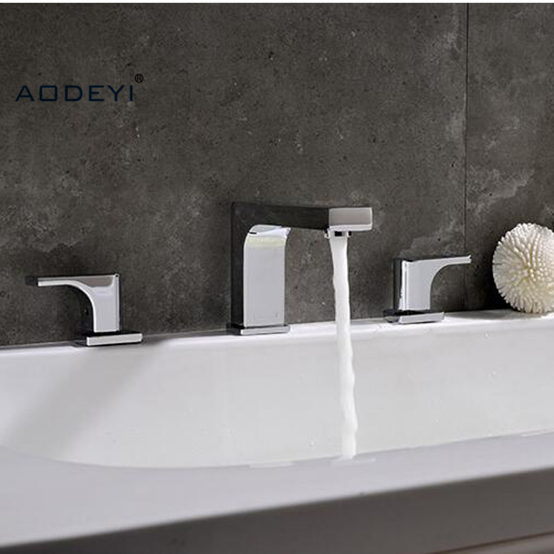 7 Faucet Finishes For Fabulous Bathrooms: Aliexpress.com : Buy AODEYI Brass Chrome Finish Basin
