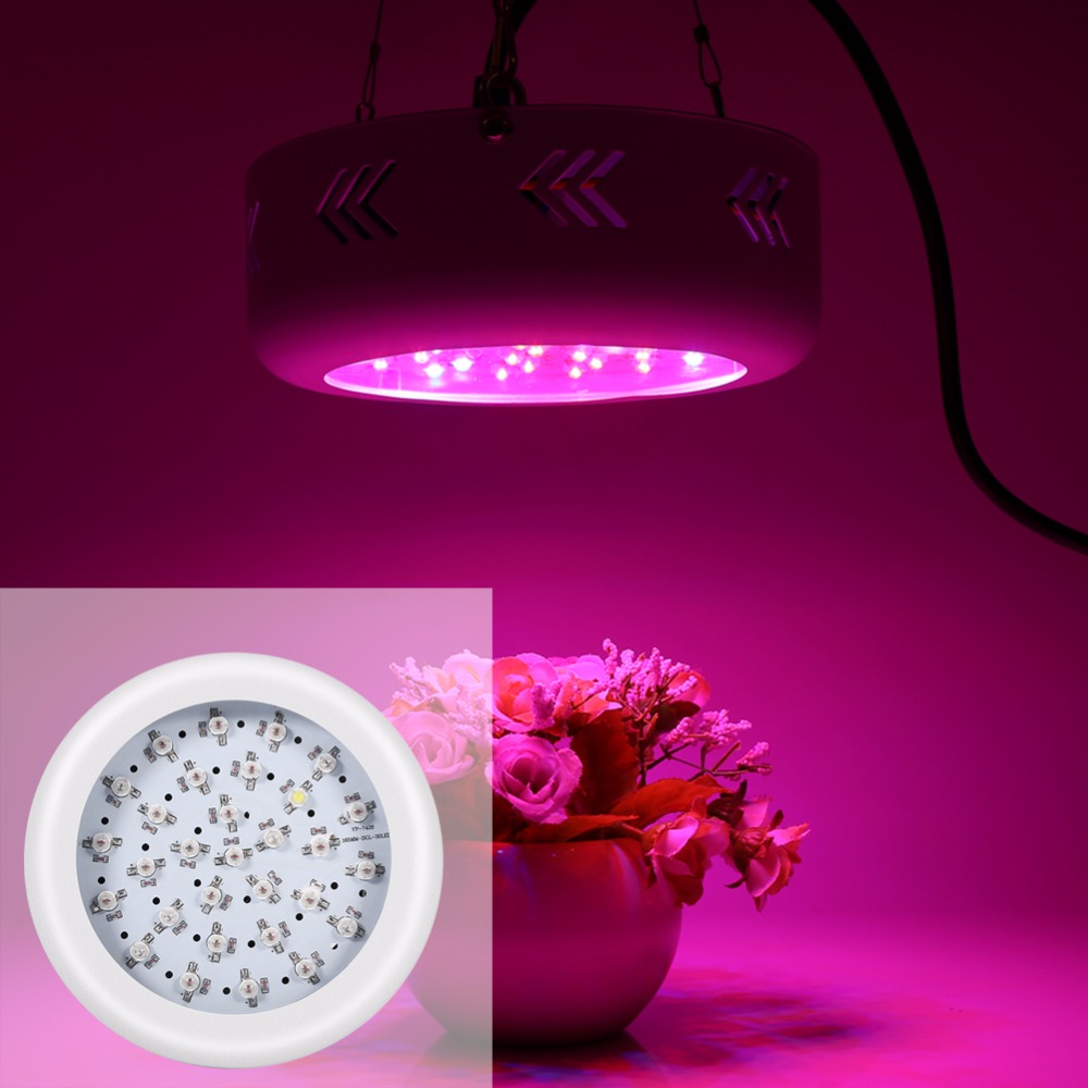 300W Full Spectrum 30 LED UFO Grow Light Lamp For Indoor Plants Veg Fruit Bloom Growth New Greenhouse Light Bulbs best led grow light 600w 1000w full spectrum for indoor aquario hydroponic plants veg and bloom led grow light high yield