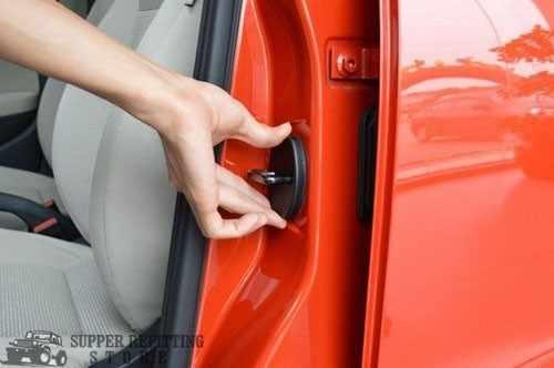 4 * tapas protectoras de plástico de la hebilla de la cerradura de la puerta cubiertas para A1 A4 A5 A7 Q3 Q5 Q7