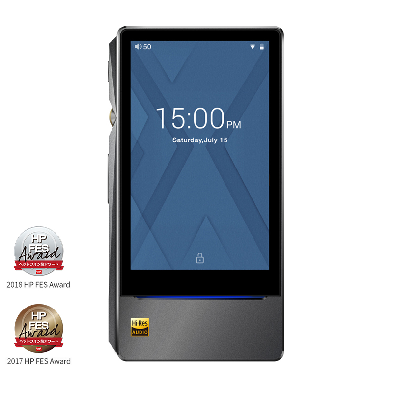 FiiO X7II avec Balacned Module AM3A basé sur Android WIFI Bluetooth 4.1 APTX Sans Perte DSD Portable Lecteur de Musique, FiiO MP3 X7II