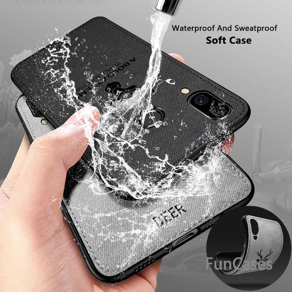 Caso de Huawei P20 Lite caso Pro de ciervo para Honor 10 V10 8X Nota 10 9 Mate 10 p10 Lite Nova 3 3i caso P Smart Plus