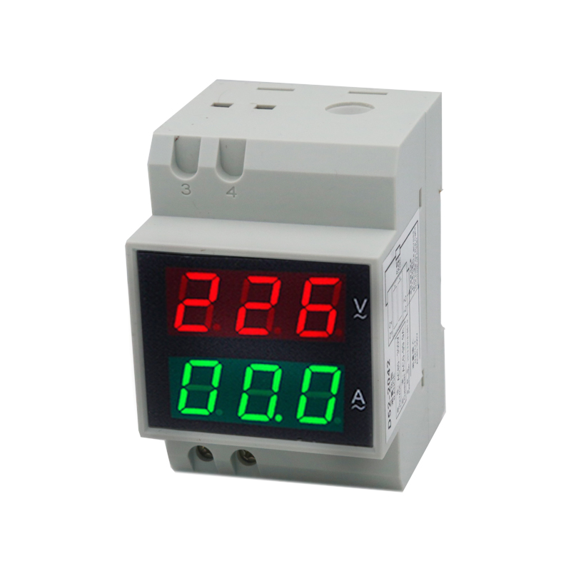 D52-2042 Dual LED Din Rail 99.9A AC80-300V Ammeter Voltmeter Voltage Current Meter 40%offD52-2042 Dual LED Din Rail 99.9A AC80-300V Ammeter Voltmeter Voltage Current Meter 40%off