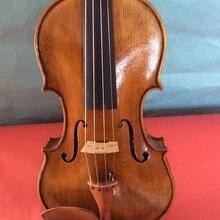 4/4 Размер Скрипки одноцветное ель верхней и клен сзади № 5 Античный стиль Скрипки