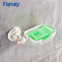 Fapully Bathroom Accessories China Soap Dishes/ Holder/Soap Box Black White