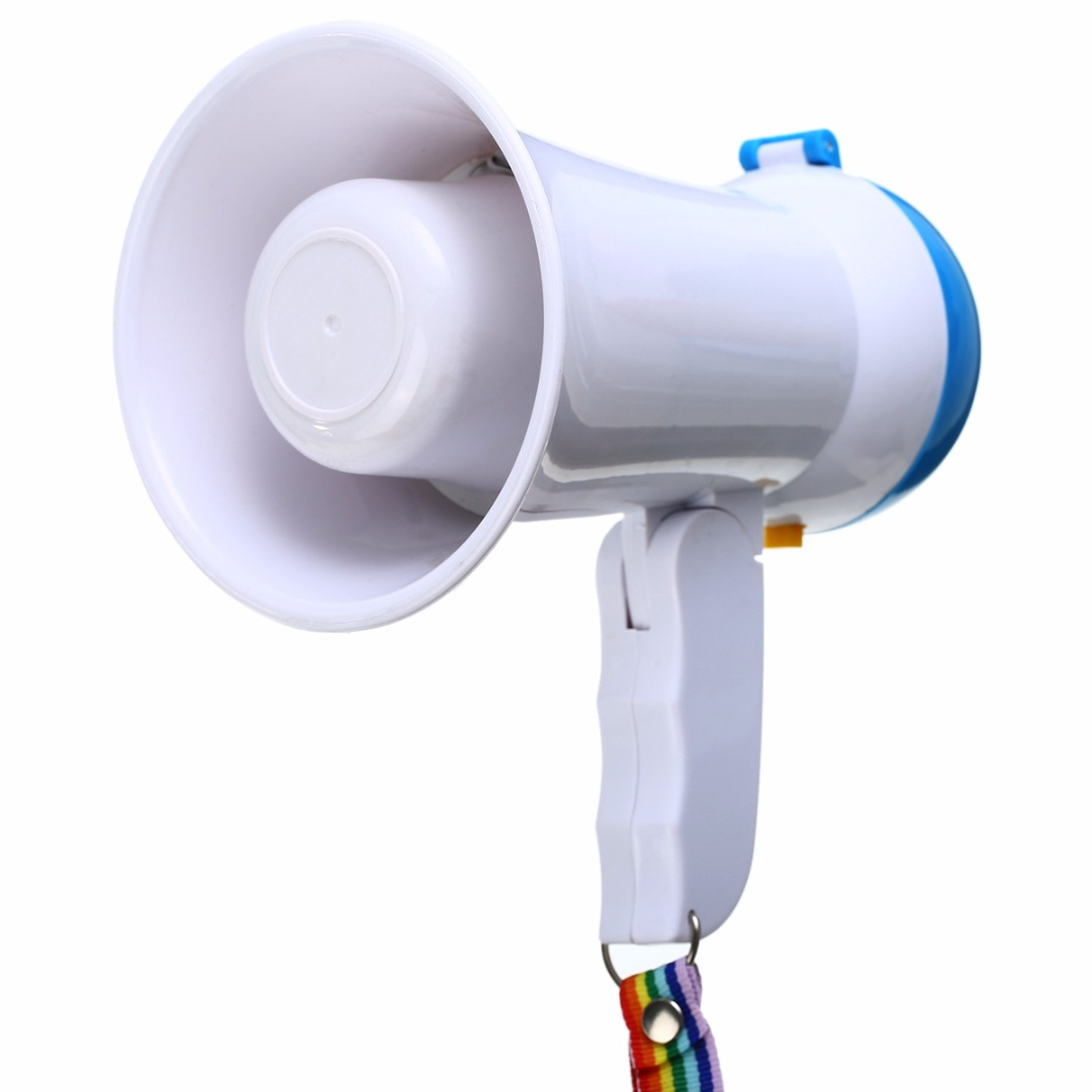 5W Handheld Megaphone Loud Speaker Amplifier Bullhorn Microphone Loudspeaker Record Play for Guider Teacher Party Presenter5W Handheld Megaphone Loud Speaker Amplifier Bullhorn Microphone Loudspeaker Record Play for Guider Teacher Party Presenter