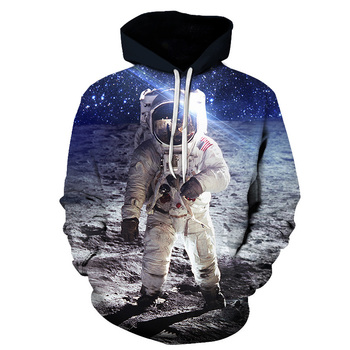 Street Fashion 3D Printed Armstrong Hoodie