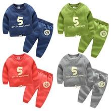 Tz-2612 Baby Digital Suit 2017 Spring Clothes Pattern Children's Garment Male Children's Catch Velvet Drawstring Sweater Pants