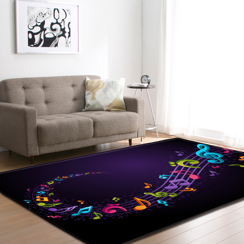 Bande dessinée colorée inde tapis d'impression murale grand salon moderne tapis Palace salon tapis enfants tapis état maison tapis de Yoga