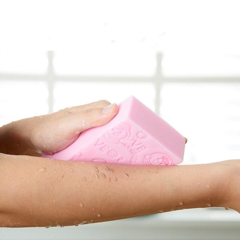 1Pcs Soft Body Cleaning Bath Spa Sponge Scrubber Adult Bath Sponge Cleaning Shower Scrub Bath Ball