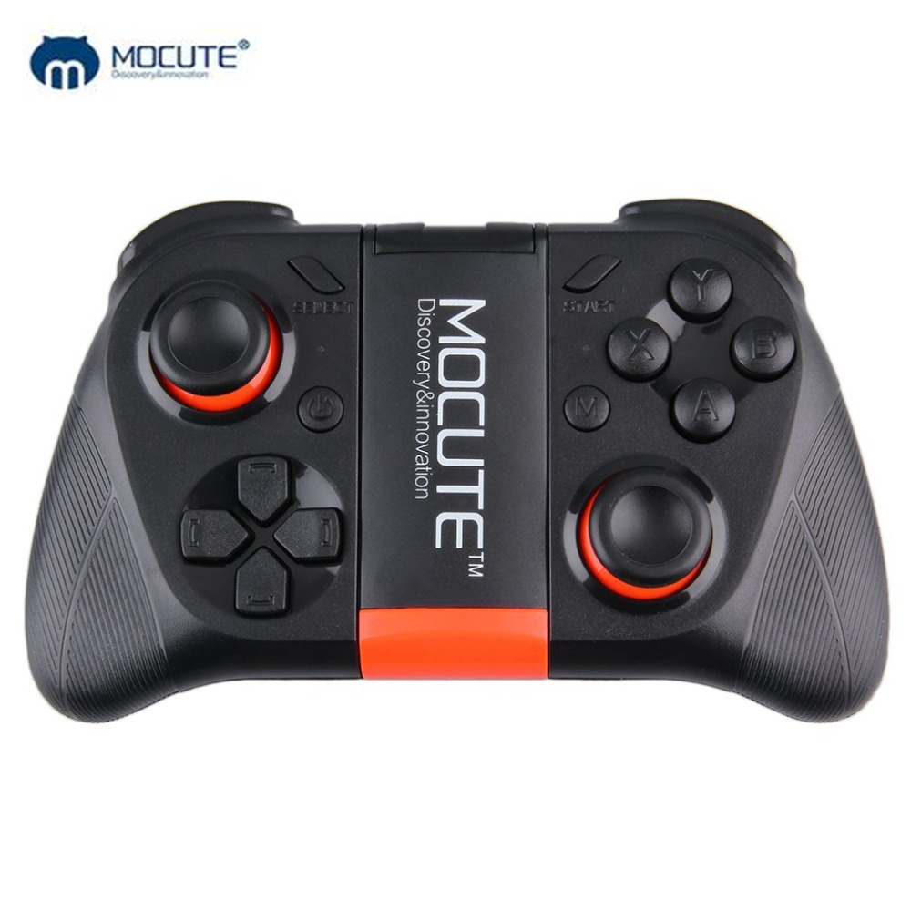 MOCUTE 054 Senza Fili di Bluetooth Gampad Joystick PC Draadloze Controller di Gioco Per Android iOS Smartphone PC Smart TV VR nave di Goccia
