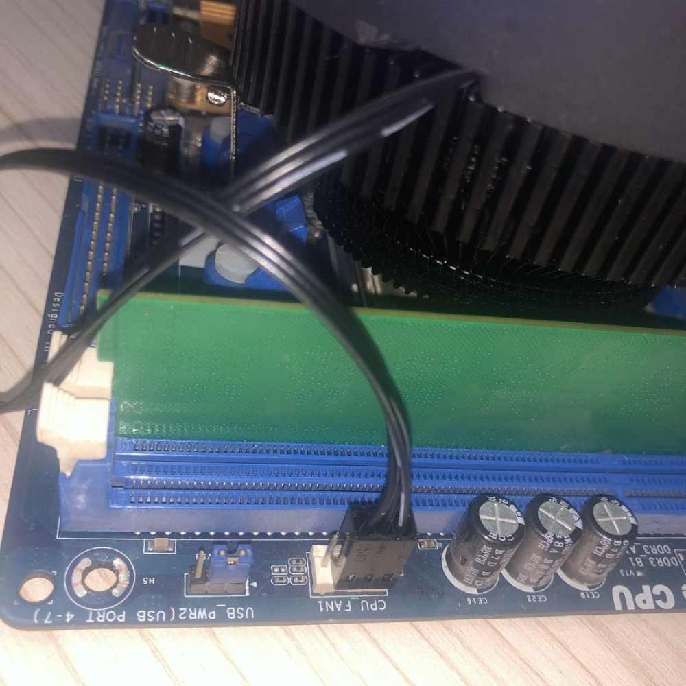 مروحة تبريد من dark flash Aigo CPU مبرد أنبوب تدفِئة LED AMD Intel صامت 3Pin كمبيوتر وحدة المعالجة المركزية تبريد مروحة تبريد LGA/115X/775/AM3/AM4