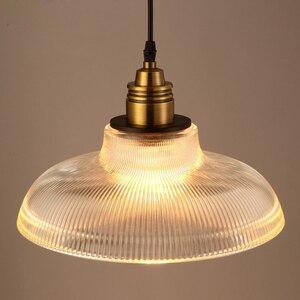 Image 1 - Vintage Pendant Lights Glass luminaire Loft Retro Hanglamp Creative Industrial deco maison Lighting Fixtures E27 Restaurants Bar