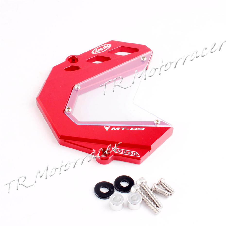 For YAMAHA SPORT TRACKER / TRACER 900/ XSR900 / MT-09 Front Sprocket Cover  2014 2015 2016 Motor Chain Wheel Protection Red