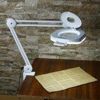 Multi functional Welding LED Magnifier LED Magnifying Lamp Glass Alligator Clip Holder Clamp Soldering Repair Tool