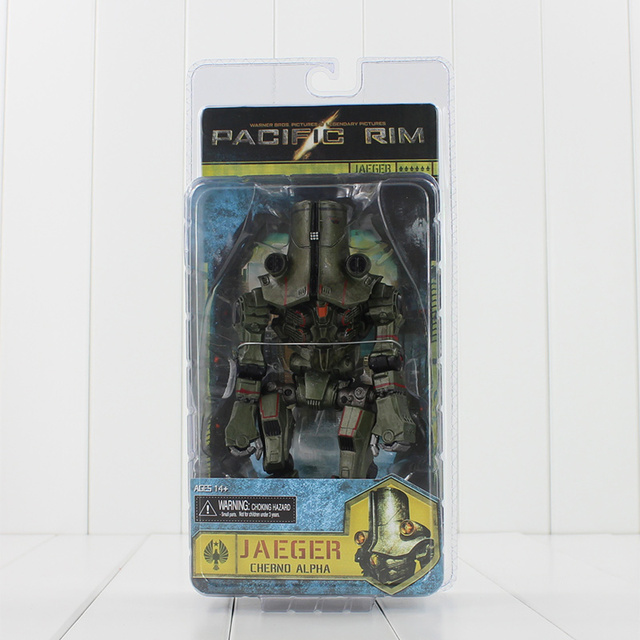 "NEW Arrial NECA Pacific Rim JAEGER Cherno Alpha 7"" 20cm Deluxe Action Figure Free Shipping"