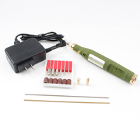 18000rpm DIY Artist Milling Polishing Drilling Cutting Electric Dremel Drill Grinder Grinding Set for Engraving Kit Hand Tools